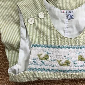 Other - Precious Smocked Shortall - Whales